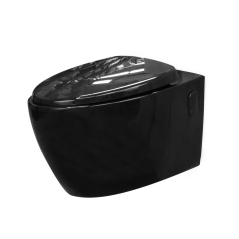wc suspendu noir. Black Bedroom Furniture Sets. Home Design Ideas