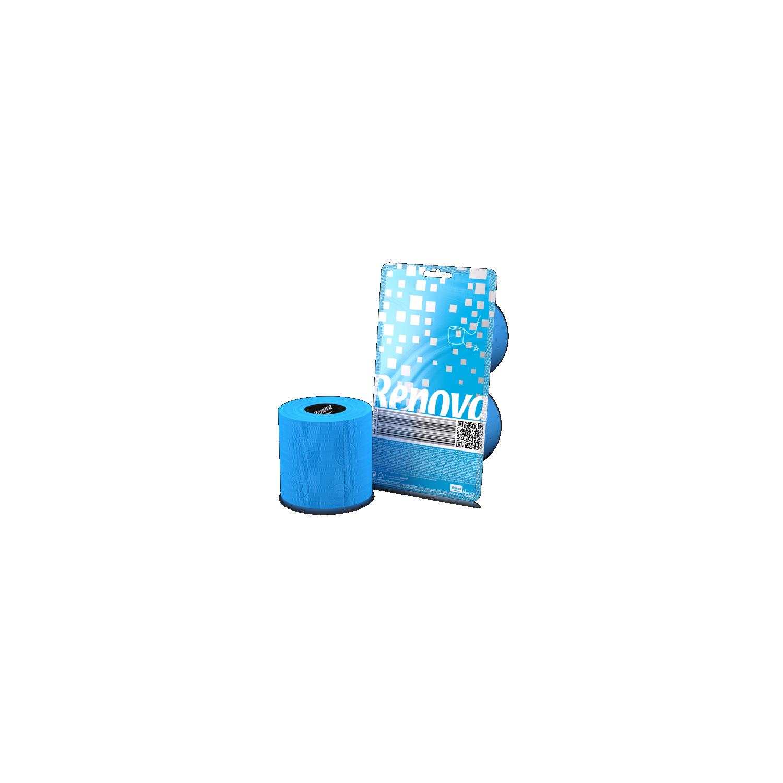 Papier wc bleu 2 rouleaux - Papier toilette colore ...