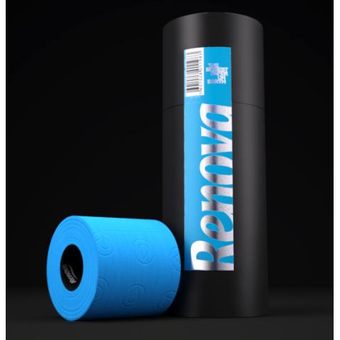 Papier WC bleu premium (3 rouleaux)