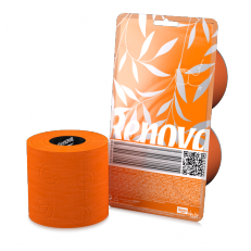 Papier WC orange (2 rouleaux)