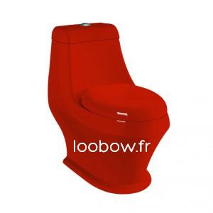 Loobow : WC couleur noire monobloc