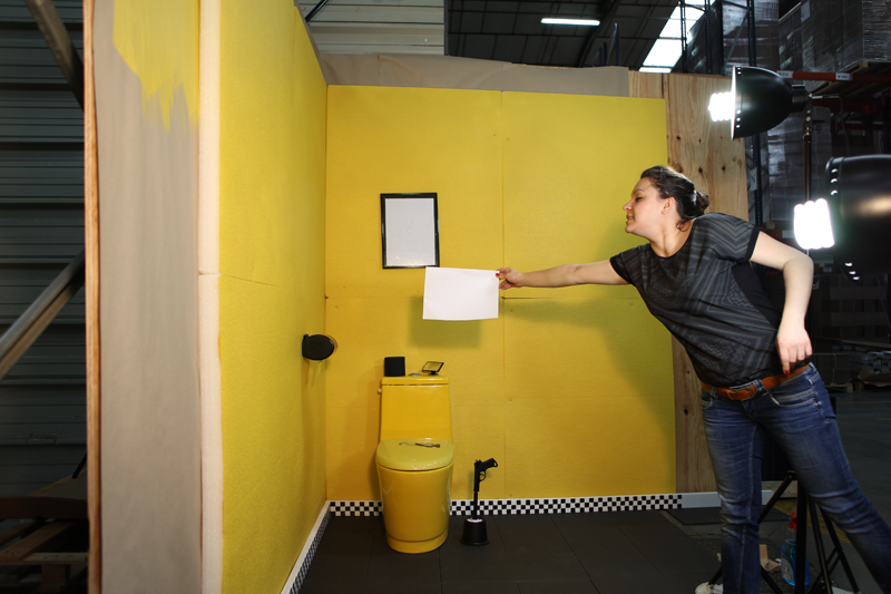Wc jaune - Enlever tartre dans wc ...