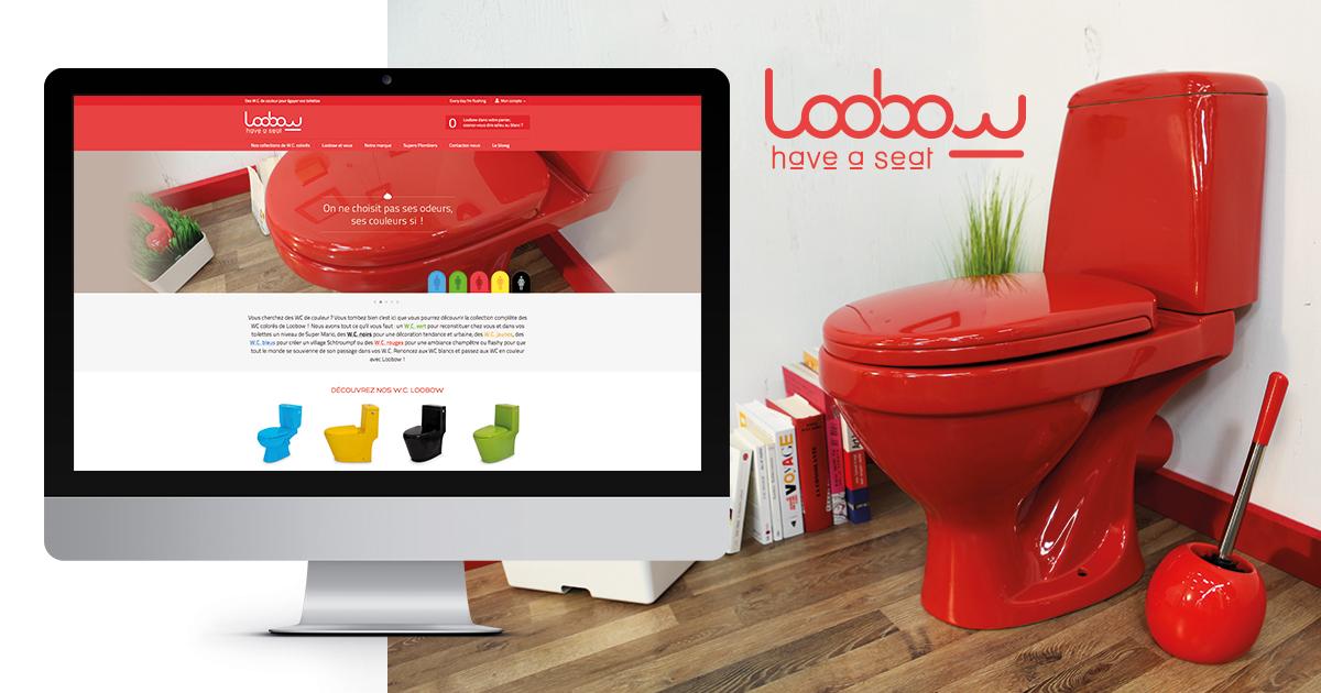 toilettes couleur loobow vente en ligne de wc de couleur loobow. Black Bedroom Furniture Sets. Home Design Ideas